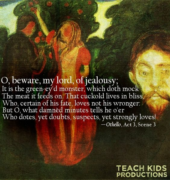 macbeth jealousy Online study guide for macbeth: as & a2, characters & themes macbeth's jealousy of banquo.