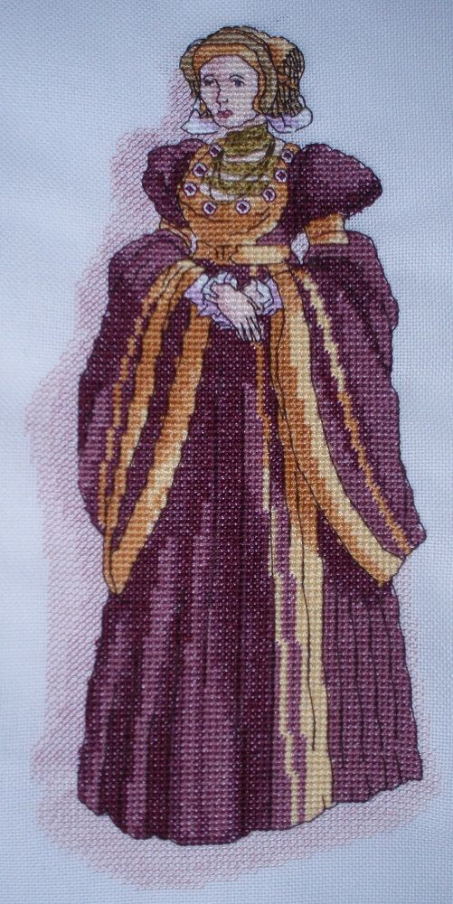 CL113 Anne of Cleves Cross Stitch Chart by Vanessa Wells