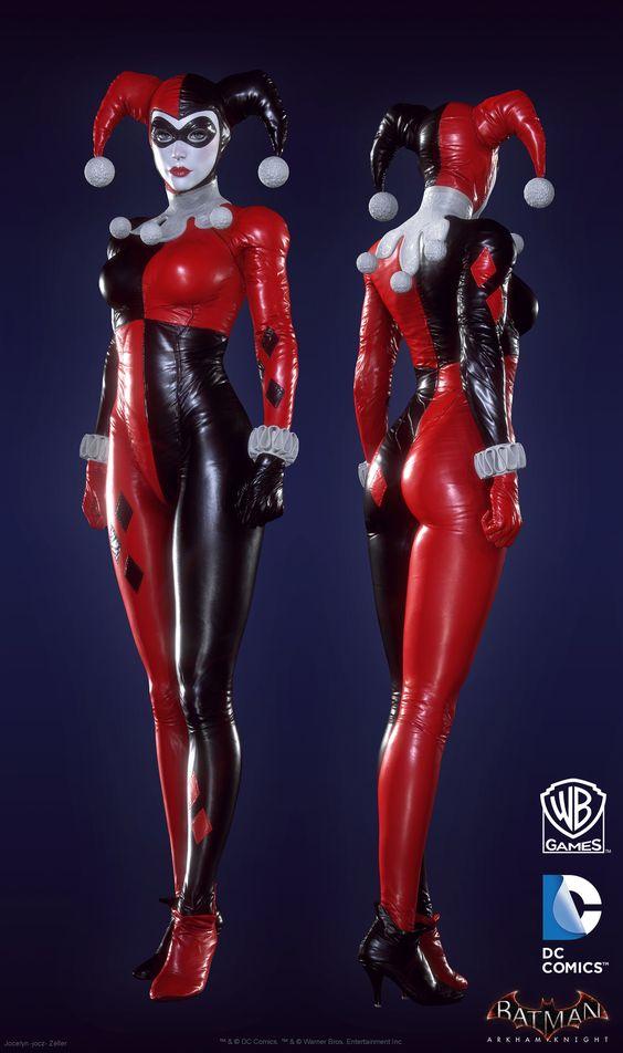 "ArtStation - Batman: Arkham Knight DLC, Harley Quinn Game Model BIGSHOT, Jocelyn ""jocz"" Zeller"