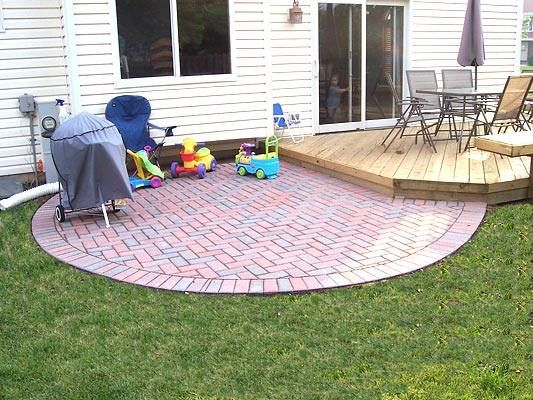 Patio Ideas On A Budget Paver Patio In Lake Zurich Il