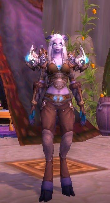Barla's Corner: Barla today. Warcraft hunter transmog