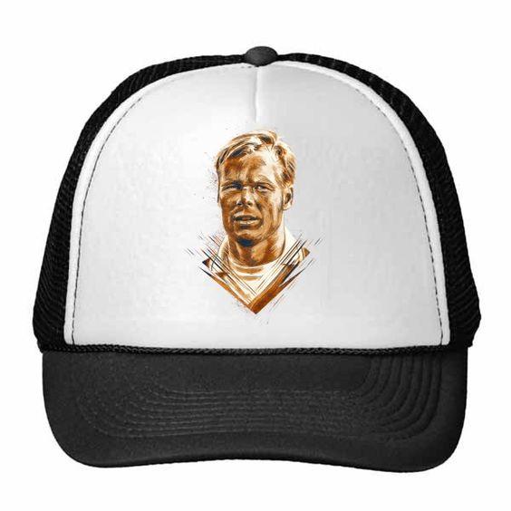 Netherland Euro 2016 UEFA Star Trucker hat,  Ponald koeman