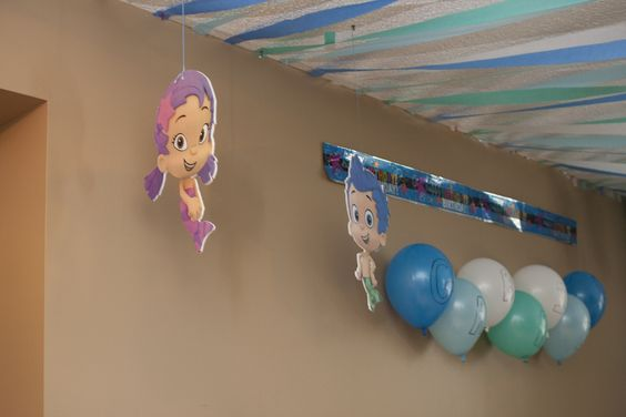 Bubble Guppies Hanging Decorations