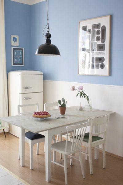 Erdbeerzeit in unserer Küche | Wände und Vintage