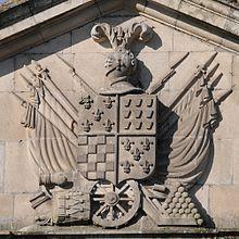 Casa dos Cunha Reis: brasão de armas.