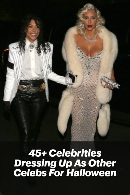 How Did Celebrities Dresses Up For 2020 Halloween Can You Guess Who It Is? 45+ Celebrities Dressing Up As Other