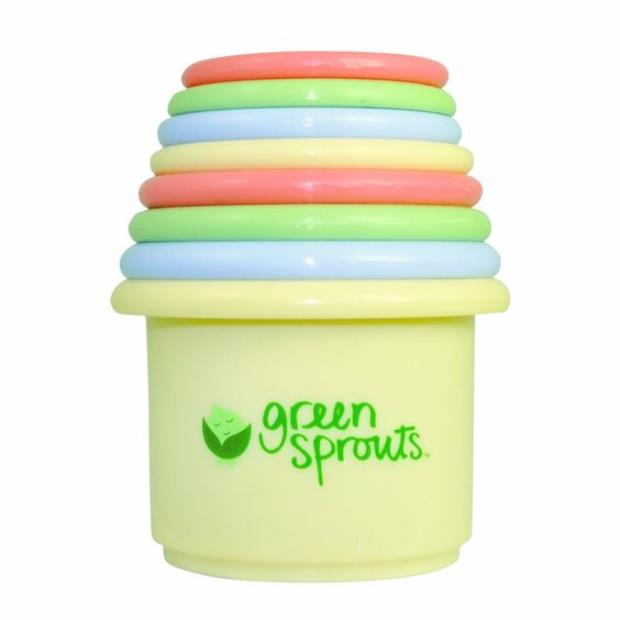 green sprouts Stacking Cup Set, Colors may vary ($12.99)