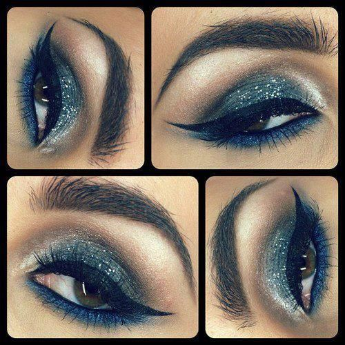 Show-Stopping Seductive smokey eye make-up with dramatic cat-eye liner!