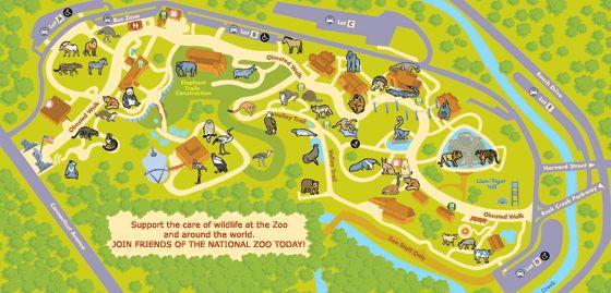 Memphis Zoo Map Pdf