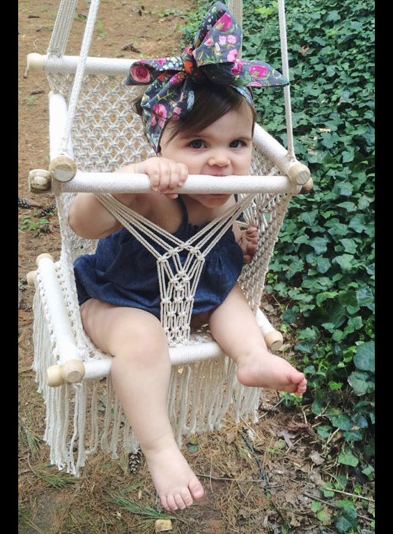 Other – Baby Hanging Chair – a unique product by HamacArt on DaWanda