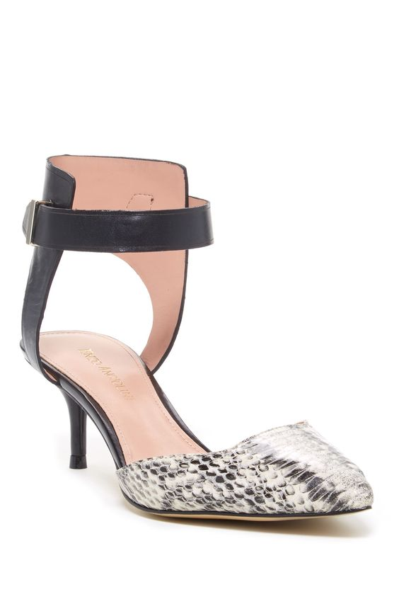 Gulia Ankle Strap Pump by Enzo Angiolini on @nordstrom_rack