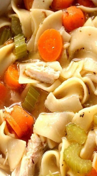 20-Minute Chicken Noodle Soup