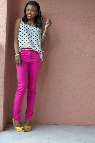 God, I need to buy a pair of brightly colored skinny jeans.