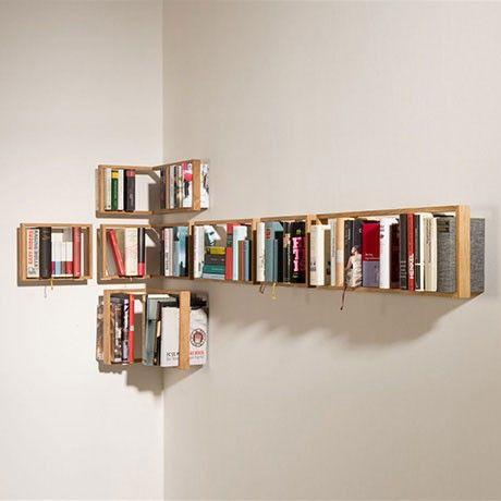 bookshelf by das kleine b monoqi storage pinterest floating bookshelves and bookshelves. Black Bedroom Furniture Sets. Home Design Ideas