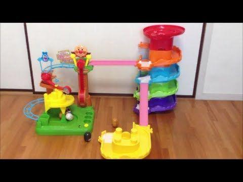 コロロンシリーズを合体させて遊んでみた♪ Kororon park series with daruma  アンパンマンのおもちゃ