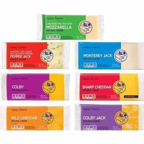 Happy Farms Cheese Block   ORGANIZATION - Visual Grocery List ...
