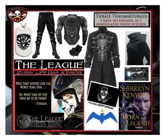 Dress like the former Trisana Commander Thraix Sparda from Sherrilyn Kenyon's League®: Nemesis Rising series.