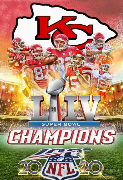 Kc Chiefs Super Bowl Champs In 2020 Kansas City Chiefs Super Bowl Champ Kansas City Chiefs Football