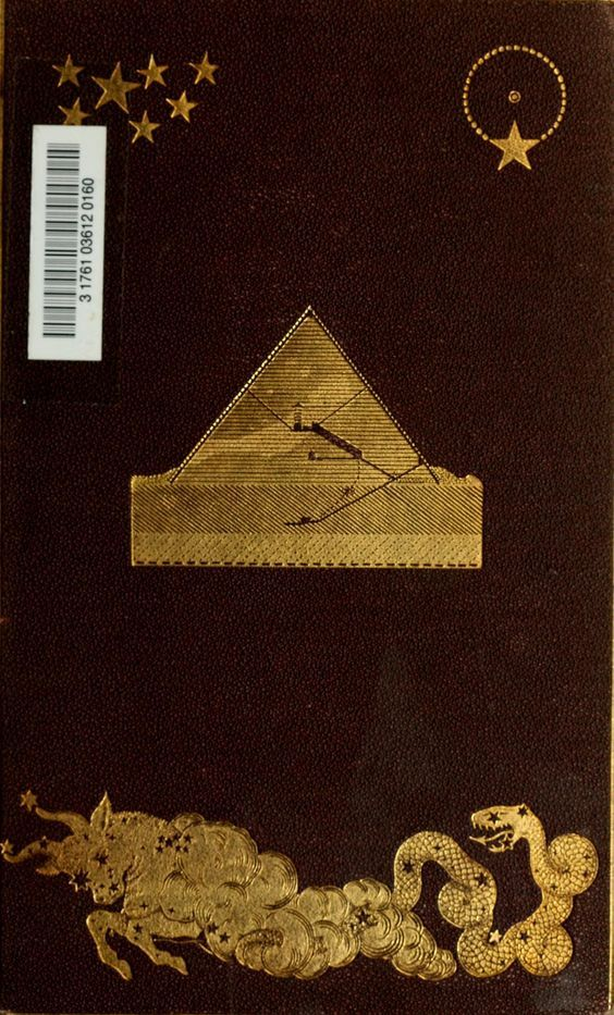 Life and work at the Great Pyramid. 1867. Book cover.