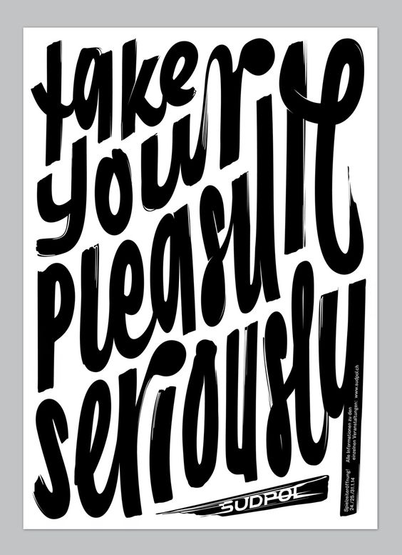 thedsgnblog:  Quote of the week - 01/09/2014 Feixen  |  http://feixen.ch Feixen is the graphic design work of Felix Pfäffli. Felix was born in 1986. In 2010 he graduated and started his own studio «Feixen». In the summer of 2011 he was appointed as teacher at the Lucerne School of Graphic Design to teach in the fields of typography, narrative design, and poster design. Since 2013 he is a member of the AGI (Alliance Graphique International). The Design Blog:facebook |twitter ...