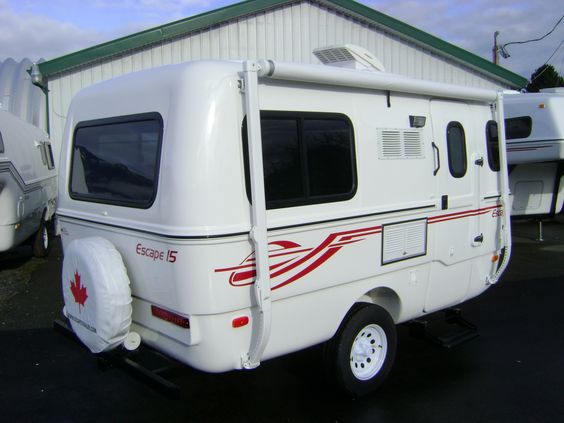 Excellent Travel Trailers  Fiberglass Travel TrailersOliver Travel Trailers