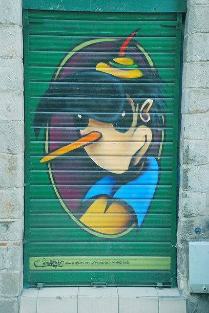 Pinnochio In Lille France by MrScroobs, via Flickr