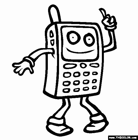 Cell Phone Coloring Page Best Of Coloring Pages Cell Phones Coloring Home Coloring Pages Curious George Coloring Pages Free Coloring Pages