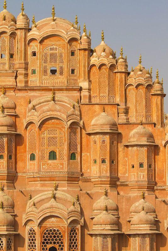 Palais des Vents à Jaïpur, Inde du Nord