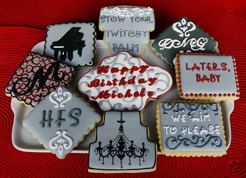Fifty Shades of Grey inspired desserts