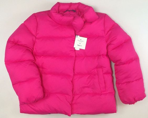 Canada Goose coats online 2016 - KATE SPADE for BABY GAP Down Puffer Jacket Girls Pink Size 3 3T ...