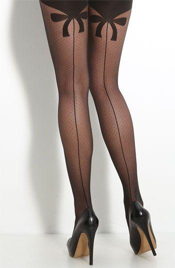 Wolford - Secret Bow Pantyhose $40.90 Black *Always wear ...