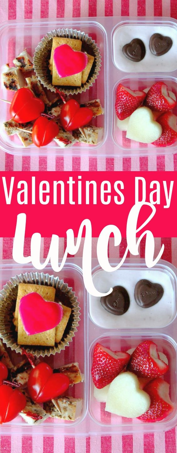 Valentine's Day Lunch for Kids | Foodtastic Mom