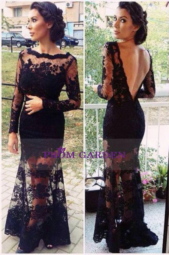 2015 Charming Bateau V Shape Back Evening Dresses Mermaid Lace And Tulle With Deep