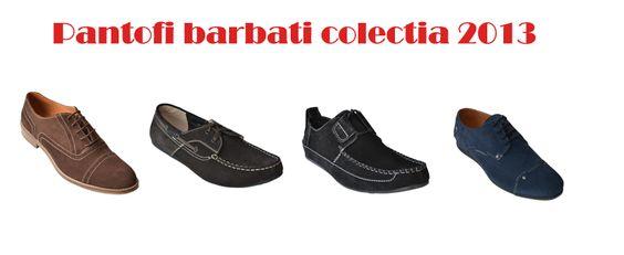 Pantofi barbati Colectia 2013