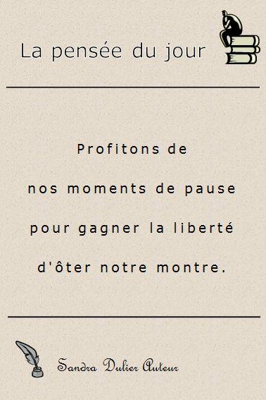 French quote - citation - pensée positive - Bon week-end !