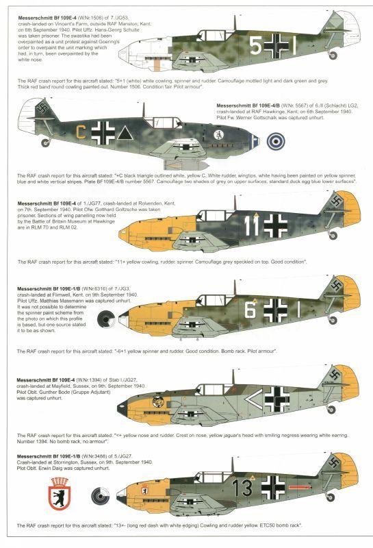 """Love a crashed Bf 109"" KB..."