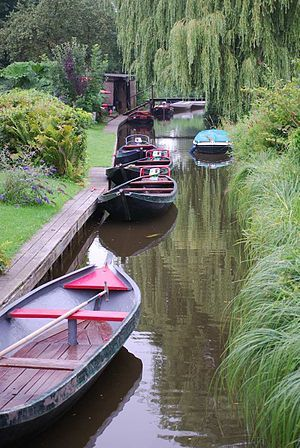 Giethoorn - a Village in Holland without roads.