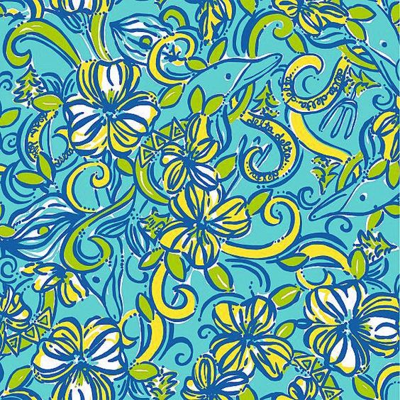 Lily Pulitzer Inspired Vinyl 8.5 X 11 Waterproof Vinyl- check out The Grand Opening Sale! by diannasheavenlyvinyl on Etsy