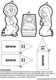 Resultado de imagem para présepio de natal em eva passo a passo