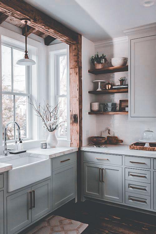 25 Country Rustic Kitchen Design Ideas 2020 Chloelena Com European Kitchen Design Kitchen Inspiration Design Interior Design Kitchen