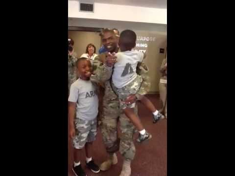 Dad's surprise homecoming from Afghanistan - http://www.militarysurprise.com/dads-surprise-homecoming-from-afghanistan/