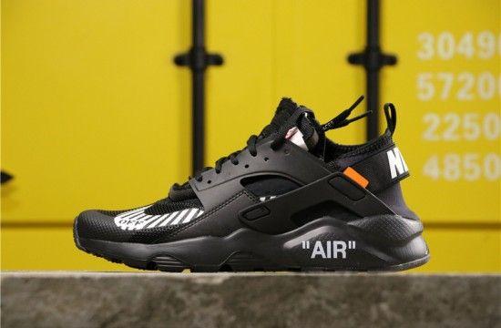 Men Off White X Nike Air Huarache