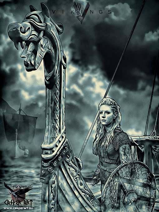 Vikings series, Lagertha | ViKiNgs | Pinterest | Lagertha ...