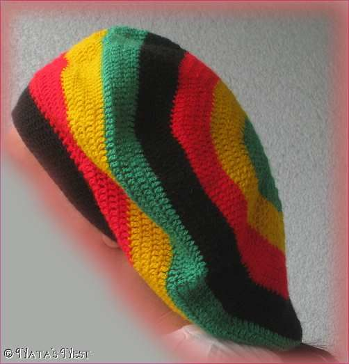 Easy Crochet Rasta Hat Pattern : Natas Nest: Hats free Rasta hat pattern crochet Head ...