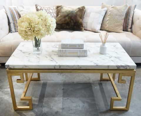 Marble Coffee Table White Marble With Gold Greek Legs Design Displayed In Singapore At Finn Avenue Home Lux Marble Coffee Table Coffee Table Buy Coffee Table
