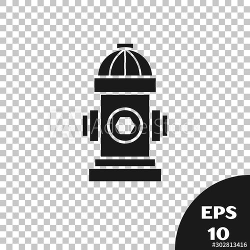 Black Fire Hydrant Icon Isolated On Transparent Background Vector Illustration Affiliate Hydrant In 2020 Black Fire Vector Illustration Minimalist Logo Design
