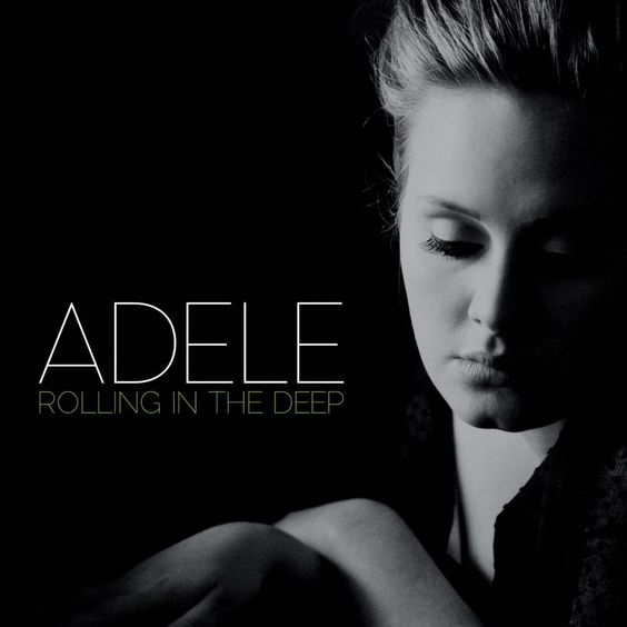 Adele – Rolling in the Deep (single cover art)