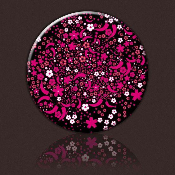 Miroir de poche en métal multicolor: Mirror, Pocket, Metal