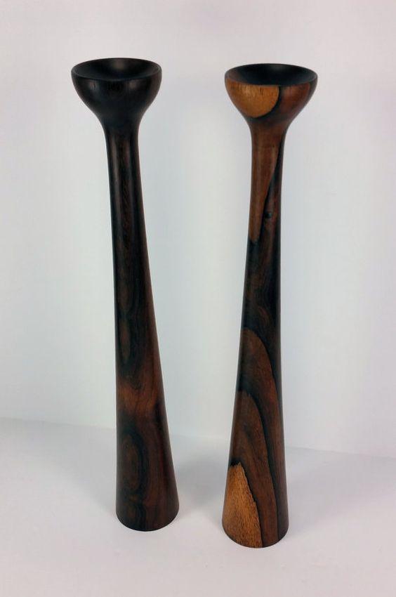 Vintage Mid Century Danish Modern Teak Wood by GreatRiverVintage