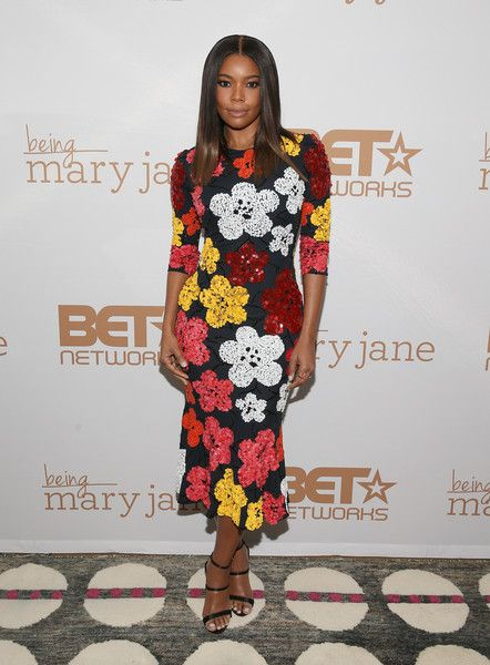 Actress Gabrielle Union attends the Being Mary Jane premiere, screening, and party on January 9, 2017 in New York City.